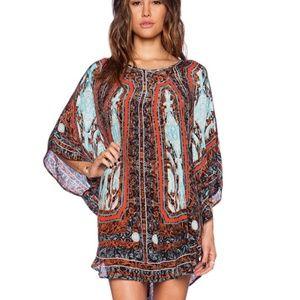 TOLANI Silk Dress/Tunic Large NEW